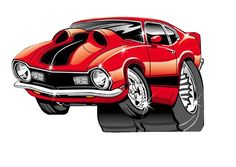 Mavrick Grabber Car Drawing Pencil, Cartoon Car Drawing, Car Drawings, Cartoon Dog, Ford Maverick, Old Fords, Mustang Cars, Car Sketch, Automotive Art