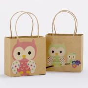 owl mini gift bags - for baby shower favors? Baby Girl Owl, Baby Owls, Mini Kraft, Mini Gift Bags, Owl Bags, Paper Crafts, Diy Crafts, Dream Baby, Party Bags