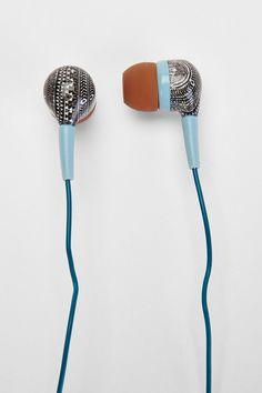 UO Printed Earbud Headphones