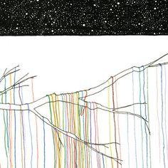 Lart C. Berliner Cosmic Crochet Card by Little Otsu