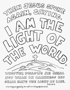 The ABC of the Gospel Coloring page. See more at my