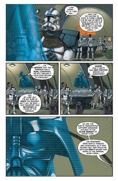 Darth Vader learns about the slavery in the Empire Star Wars Clone Wars, Star Trek, Star Wars Comics, Batman Comics, Darth Vader Comic, Ben 10 Ultimate Alien, 501st Legion, Pokemon, Star Wars Facts