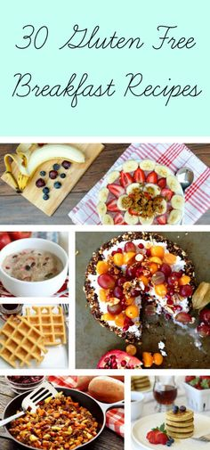 Here's a collection of 30 gluten free breakfast recipes all in one place to help make your life simpler!
