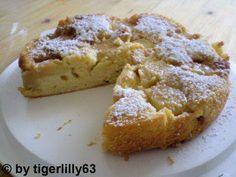 Das perfekte Joghurt-Apfelkuchen-Rezept mit Bild und einfacher Schritt-für-Schritt-Anleitung: Eine Springform oder hohe Tarteform (4 cm Höhe, 26 cm Ø)…
