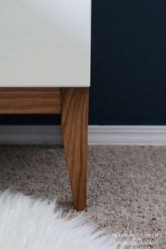 Gorgeous Mid Century Ikea Tarva Hack By Petite Modern Life On Remodelaholc  · 50er JahreSammlungSelbstgemachtesWohnenHauptschlafzimmerSchlafzimmer ...