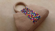 How To #Crochet Easy Handbag Purse with Nylon Thread #TUTORIAL #323