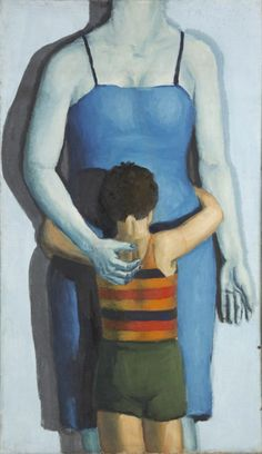 Andrzej Wroblewski - dziecko-z-zabita-matka - Child with Dead Mother But Is It Art, Portraits, Figure Painting, Painting Art, National Museum, I Love Cats, Art Museum, Arsenal, Modern Art