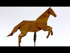 Origami Tutorial: Kangaroo (Stephen Weiss) - YouTube