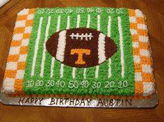 UT Football Field 1/2 Sheet Cake | Flickr - Photo Sharing!