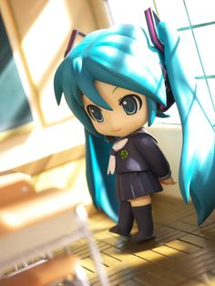 """At the School"" Hatsune Miku figure photo by reonov #Hatsune Miku #figure"