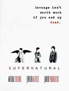 Minimalist Supernatural Poster cosplay by CelestialOtter on Etsy, $16.90