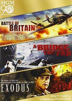 Michael Caine & Trevor Howard - Battle of Britain / A Bridge Too Far / Exodus Triple Feature