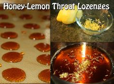 Honey-Lemon Throat Lozenges Photo by: thekosherfoodies.com We all know getting a cold is not fun one bit, but is almost inevitable this time of year . We a
