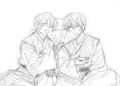 Akatsuki no Yona / Yona of the dawn anime and manga || Hak and Jaeha