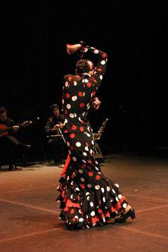 Festival Flamenco -vestido con estampa de Lunares