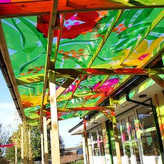 Beautiful hardwearing canopys and canopy products. Pefect for any outdoor space or school, guranteed and made to measure and a price that suits you.