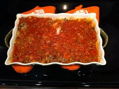 Cabbage Roll Casserole - all of the flavor, none of the labor. This one comes close to my Nana's.