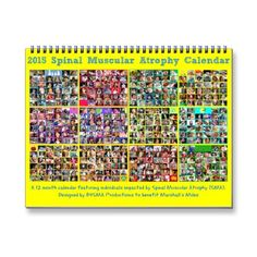 Shop 2015 Spinal Muscular Atrophy Calendar created by Personalize it with photos & text or purchase as is! Spinal Muscular Atrophy, 12 Month Calendar, Marshalls, Families, About Me Blog, Strong, Thoughts, Ideas, Tanks
