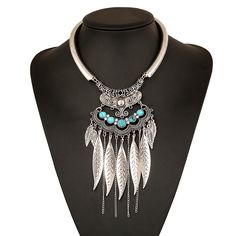 2.53$  Buy here - Find Me 2017 brand fashion boho brand bijoux collar choker necklace vintage gypsy ethnic maxi statement necklace women Jewelry   #aliexpresschina