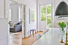 A fabulous Swedish apartment in Malmö. Bjurfors.