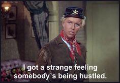 2/04/15  9:20p  Warner Bros. Pictures  ''Calamity Jane''  Doris Day  as  Calam'  Funny!   1953 theblondeatthefilm.com
