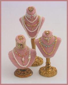 Miniature Jewelry Displays