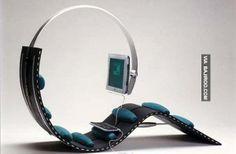 Hi-tech chair next generation ✿⊱╮