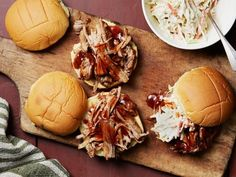 Get Instant Pot Barbecue Pulled Pork Sandwiches Recipe from Food Network