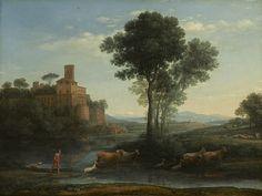 The Athenaeum - Landscape with the Voyage of Jacob (Claude Lorrain - )