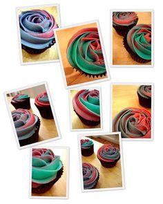 Objetivo: Cupcake Perfecto.: Mi clase de decoración de Cupcakes... y la receta del perfecto BUTTERCREAM!!!