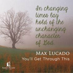 A short excerpt from You'll Get Through This by Max Lucado. Click through to learn more and read the first chapter.
