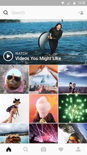 Instagram – miniatúra snímky obrazovky