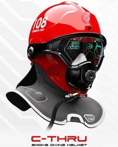 Design by: Omer Haciomeroglu (C-Thru; Smoke Diving Helmet)  On...  Design by: Omer Haciomeroglu (C-Thru; Smoke Diving Helmet)  On our website you will find a link to the author.http://ift.tt/1nFKzxm  #designinspiration #design #productdesign #industrialdesign #product #concept #helmet #rescue #fireman #firefighter #fire #firetruck #firefighters #fireengine #brothers #firelife #pompier #hero #engine #designlife #designer #designstudio #designing #designers #details #newyork #designs #creative…