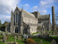 irish cathedrals | ... Expeditionary Force 1914-1919: ST. CANICE CATHEDRAL, KILKENNY, IRELAND