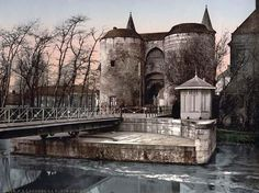 Brugges, Belgium.  This place looks like it hasn't been touched in 100's of years.  Stunning