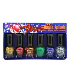 'BNWT Klean Color Jingle Splash Nail Lacquer' is going up for auction at  8am Sun, Oct 6 with a starting bid of $6.
