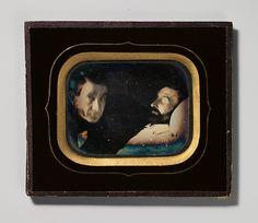 Louis Dodero | [Portrait of Living Man beside Dead Man] | The Met