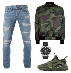 """"""""""" by mureet ❤ liked on Polyvore featuring 3x1, NIKE, Emporio Armani, men's fashion and menswear"""