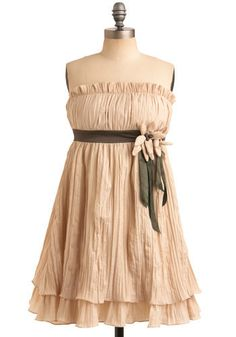 summer wheat dress