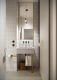 Home Interior Bathroom .Home Interior Bathroom Apartment Interior, Bathroom Interior, Modern Bathroom, Small Bathroom, Bathroom Sinks, 1950s Bathroom, Brass Bathroom, Bathroom Cabinets, Bathroom Lighting