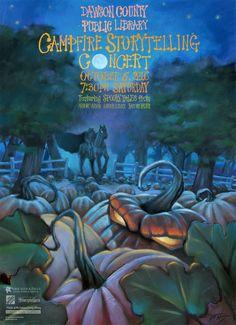 Amicalola Falls, Storytelling, Illustrations, Studio, Halloween, Movie Posters, Painting, Art, Art Background