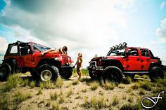 Rugged Ridge Jeeps and Girls - my kind of summer