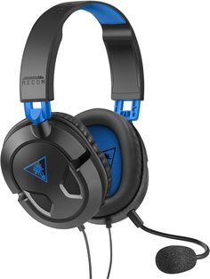 878d41cdcdd Turtle Beach - Ear Force Recon Stereo Gaming Headset - and Xbox One  (compatible w/ Xbox One controller w/ headset jack): Playstation Video Games
