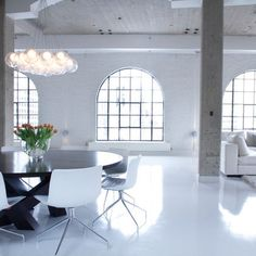 White Resin Floor Design Ideas, Pictures, Remodel, and Decor - page 2