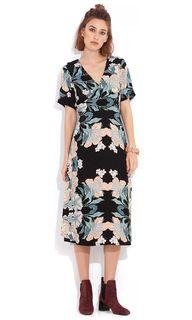Ladies Dresses Online   Melody Cross Over Dress   WISH