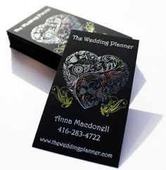 Business Cards Wedding Planner