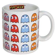 PAC-MAN Ghost Coffee Mug on GeekAlerts.com - Available on Amazon, Newegg & Entertainment Earth