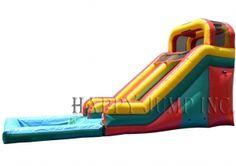 16ft water slide splash