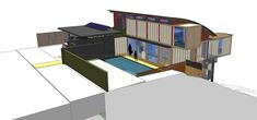 Contemporary Shipping Container Home