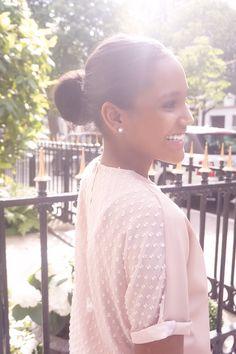 Outfit Cendre de Rose - Avenue Montaigne - Paris / SAUDADE DE PARIS /